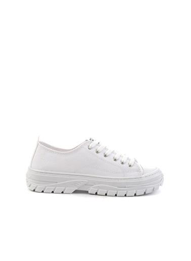 Bambi Kadın Sneaker K01836002518 Beyaz